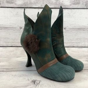 La Musa 39 US 8/8.5 Ankle Boots Made in Italy